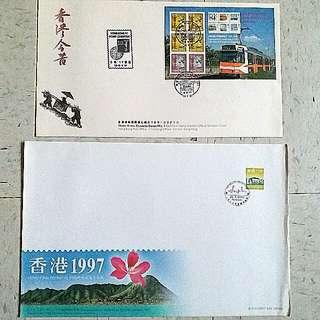 香港今昔 stamp 經典郵票第9輯電燈英女皇97