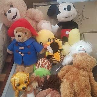 Preloved Soft Toys bundle
