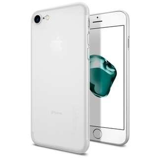 Spigen Air Skin Semi-Transparent Case iPhone 7 / iPhone 8 (Soft Clear)