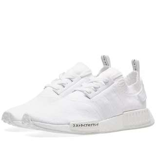Adidas NMD_R1 PK JAPAN TRIPLE WHITE