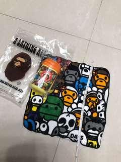 Bathing Ape 毛巾連盒