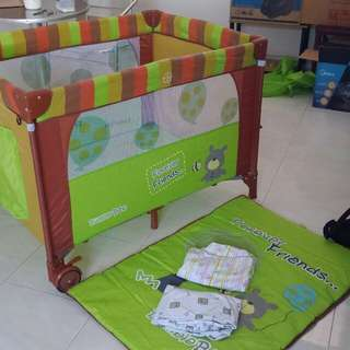 Bumble Bee Playpen