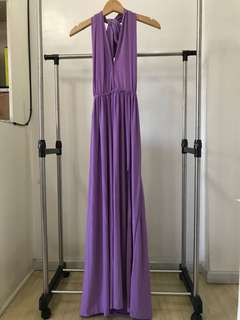 Infinity Dress With Slit