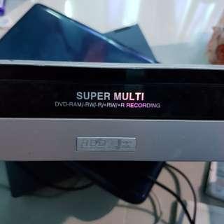 LG multi dvd recorder
