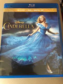 Cinderella (bluray + dvd )