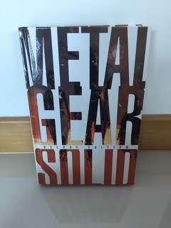 Metal Gear Solid Omnibus Deluxe Edition Comic