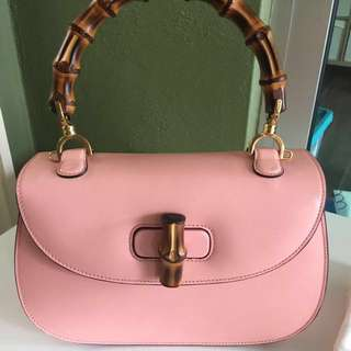Genuine Gucci Bamboo Shoulder bag