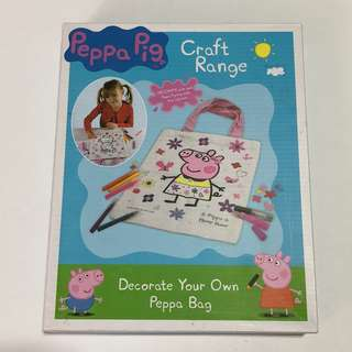 Peppa Pig: Decorate Your Own Peppa Bag