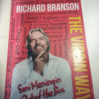The Virgin Ways, Cara Memimpin Out of Box, Richard Branson