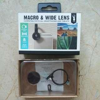 BNIB Macro and Wide Lens