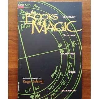 Books of Magic TP 1st Edition Neil Gaiman John Bolton Scott Hampton Charles Vess