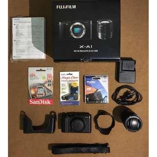 Used but like New Fujifilm X-A1 / Fuji film X-A1 / Fujifilm XA1 / Fuji film XA1 Mirrorless Cam