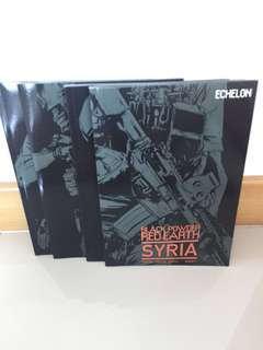 Black Powder Red Earth Syria Military Comics