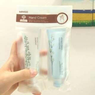 Miniso Hand Cream 2pcs (BNIP)