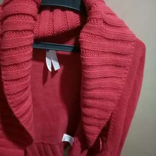 Hot Pink Knitted Sweater