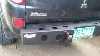 Rear bumper for strada