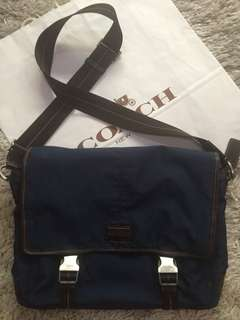 Coach Messenger Bag (men's authentic bag)