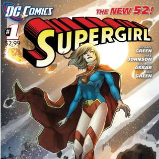 Supergirl v6 #1-6, 10-12 (New 52)