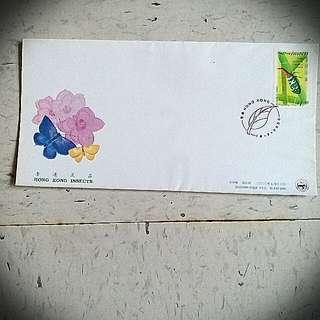 香港昆蟲 insects stamp 2000 郵票