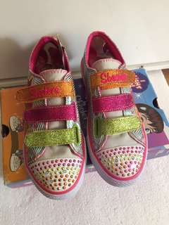 Twinkle Toes Light Up Girl Shoes