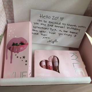 Kylie Jenner The Birthday Collection ( Ask for Price )