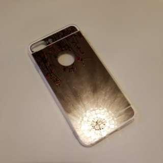 Iphone 8plus/7plus dark sliver mirror case