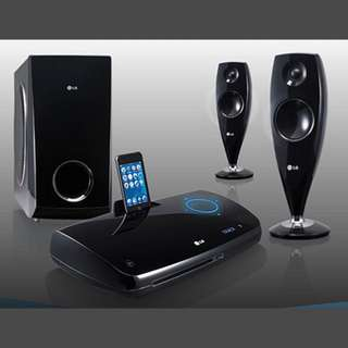 LG 2.1 DVD Home Theatre System HS33S