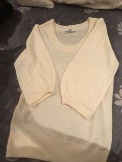 Cream top mossimo