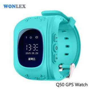 Kids Monitoring Smartwatch LCD Screen with GPS + SOS Function