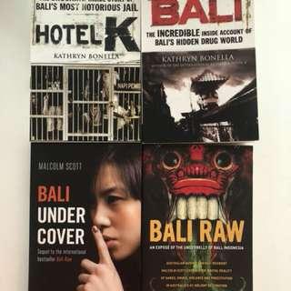 Bali True Crime Series- 4 Books