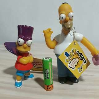 90's Homer And Bart Simpson
