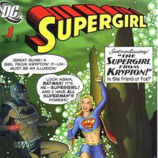 Supergirl v5 1-26, 28-35, 38-46, 49, 51, 53-54, 56, 59-62, 64-66, Annual 2009