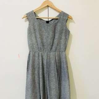 Blued dress