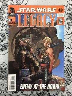 STAR WARS LEGACY - Dark horse comics
