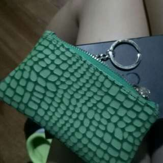 CMG Green Coin Pouch