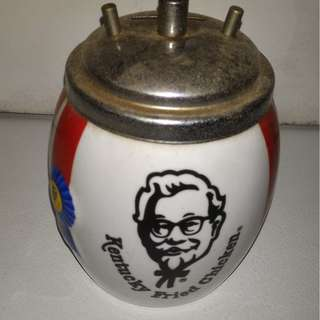 Antique vintage Kentucky Fried Chicken piggy bank