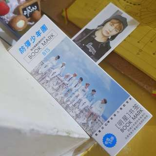 BTS bookmark