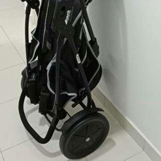 Hauck freerider tandem stroller