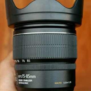 Canon Lens 15-85mm