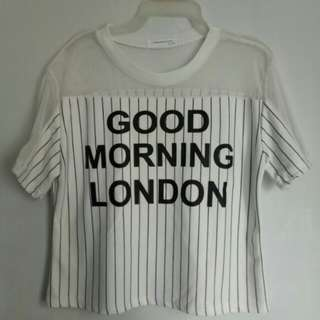Gd Morning London Shirt