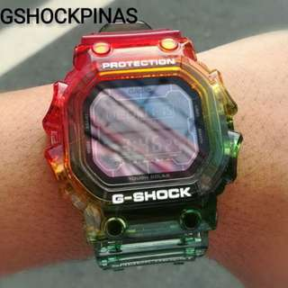 Gshock customize strap and besel