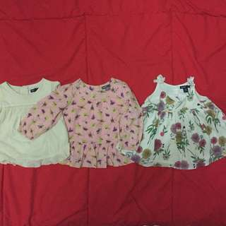 Baby Girl Toddler GAP clothes