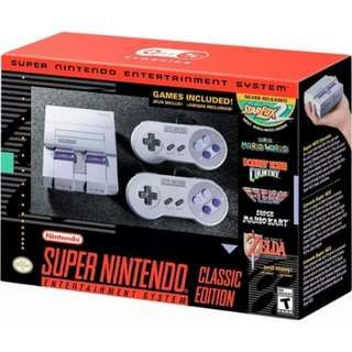 Brand new SNES Classic for sale!