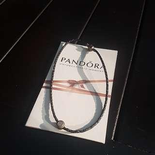 Pandora necklace & charm