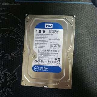 1.0TB WD Blue HDD