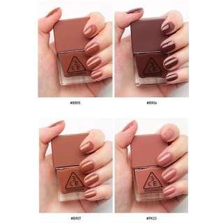 3CE Mood Recipe Nail Lacquer