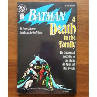 Batman: A Death in the Family TP (1988) Jim Starlin Mike Mignola Jim Aparo