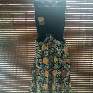 Dress Batik Pocket