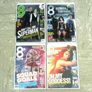 8days DC Comics Movies