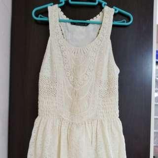 Zara 復古連衣裙